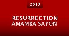 Película Resurrection Amamba Sayon