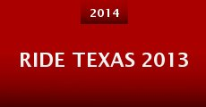 Ride Texas 2013 (2014) stream