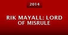 Película Rik Mayall: Lord of Misrule