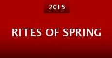 Película Rites of Spring