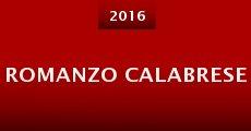 Romanzo Calabrese (2015) stream