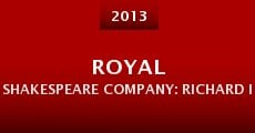 Película Royal Shakespeare Company: Richard II