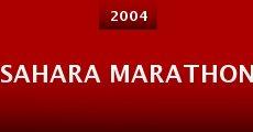 Película Sahara Marathon