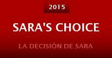 Película Sara's Choice