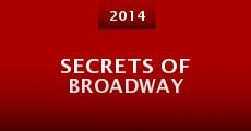 Película Secrets of Broadway