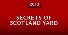 Película Secrets of Scotland Yard