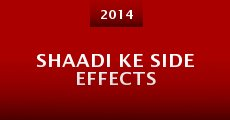 Película Shaadi Ke Side Effects