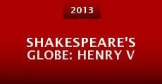 Shakespeare's Globe: Henry V (2013) stream