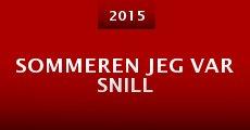 Sommeren Jeg Var Snill (2015) stream