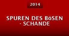Spuren des Bösen - Schande (2014)
