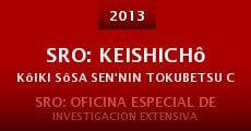 SRO: Keishichô Kôiki Sôsa Sen'nin Tokubetsu Chôsashistu (2013)
