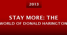 Stay More: The World of Donald Harington (2013) stream