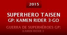 Película Superhero Taisen GP: Kamen Rider 3-go