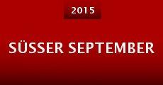 Süsser September (2015) stream