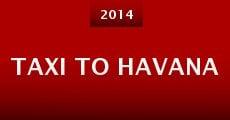 Película Taxi to Havana