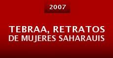 Película Tebraa, retratos de mujeres saharauis