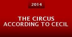 The Circus According to Cecil (2014) stream