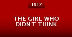 Película The Girl Who Didn't Think