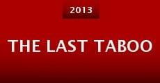 Película The Last Taboo