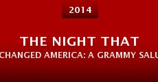 Película The Night That Changed America: A Grammy Salute to the Beatles