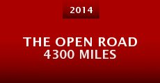 Ver película The Open Road 4300 Miles