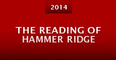Película The Reading of Hammer Ridge