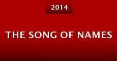 Película The Song of Names