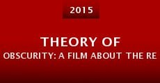 Theory of Obscurity: A Film About the Residents (2015) stream