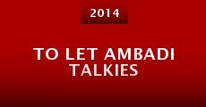 To Let Ambadi Talkies (2014) stream