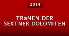 Tränen der Sextner Dolomiten (2014)