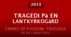 Tragedi på en lantkyrkogård (2013)