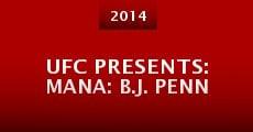 Película UFC Presents: Mana: B.J. Penn