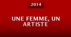 Película Une femme, un artiste