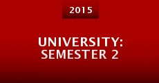 University: Semester 2 (2015) stream