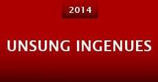 Unsung Ingenues (2014) stream