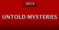 Película Untold Mysteries