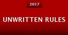 Unwritten Rules (2015) stream