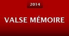 Película Valse Mémoire