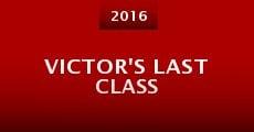 Película Victor's Last Class