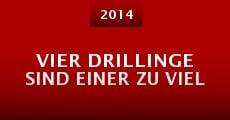 Película Vier Drillinge sind einer zu viel