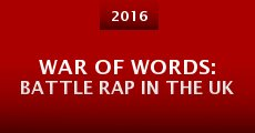 Película War of Words: Battle Rap in the UK