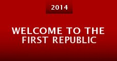 Película Welcome to the First Republic
