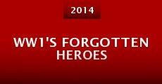 Película WW1's Forgotten Heroes