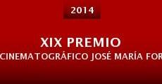 Película XIX Premio Cinematográfico José María Forqué