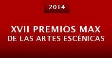 Película XVII Premios Max de las Artes Escénicas