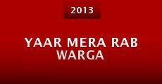 Película Yaar Mera Rab Warga